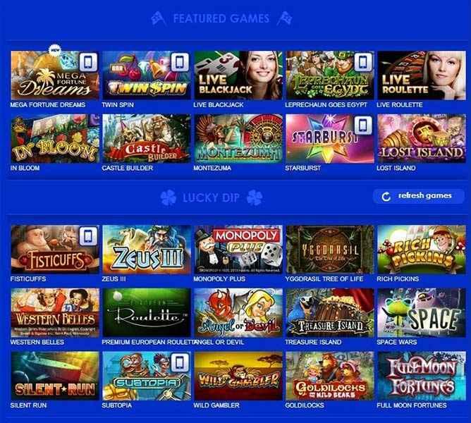 casino euro pelivalikoima