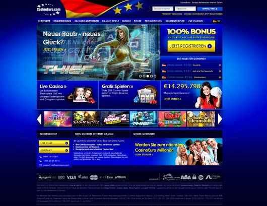 casino euro ulkoasu