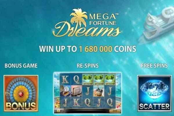 Mega Fortune Dreams ominaisuudet