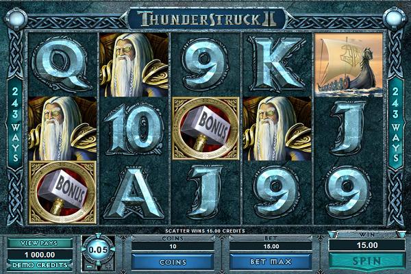 thunderstruck 2 bonuspeli