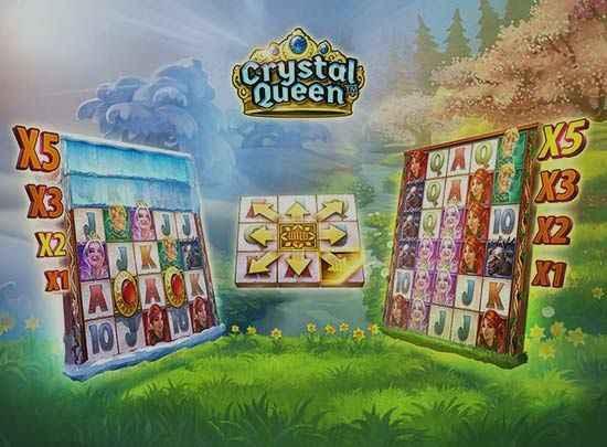 Crystal queen hedelmäpeli