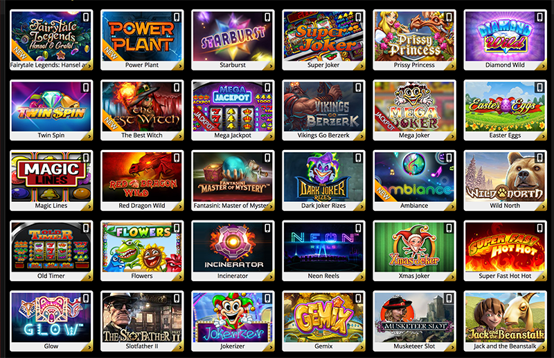 7Red online casino slot games