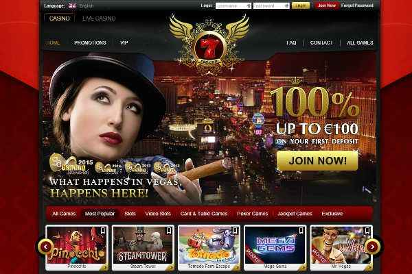 7red online casino home page