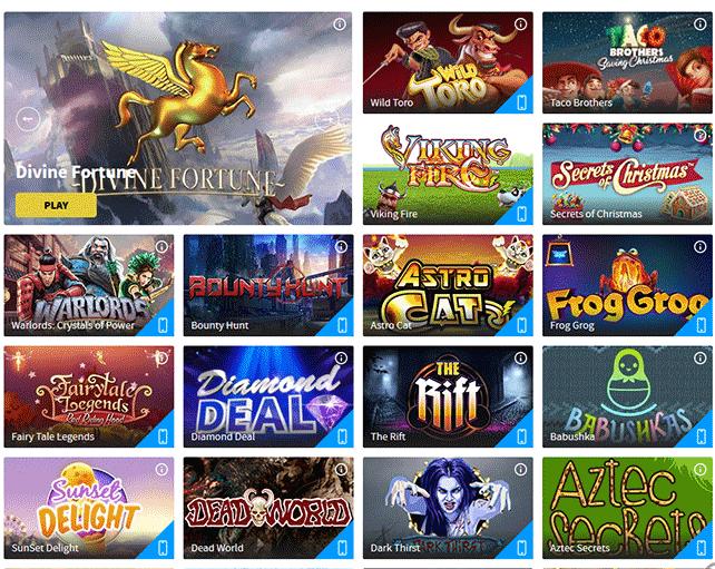 Gamblio casino popular slot games
