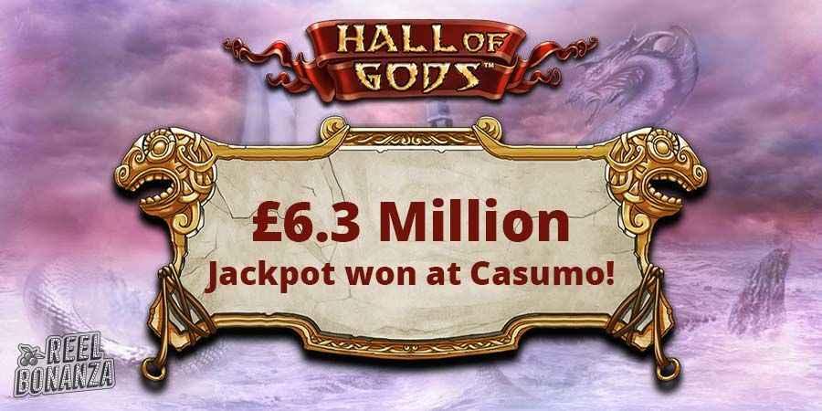 Hall of Gods mega jackpot win