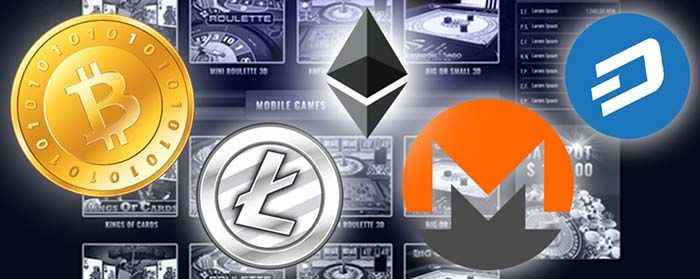 Popular crypto currencies at online casinos