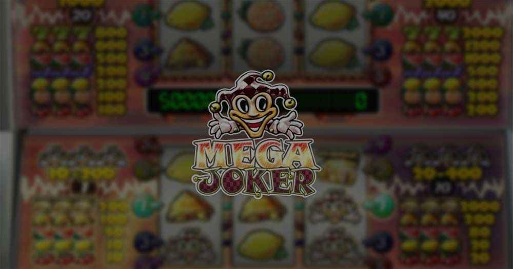 Mega joker jackpot slot game